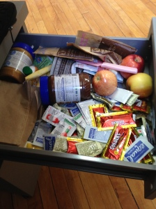 Behold the condiment drawer!!