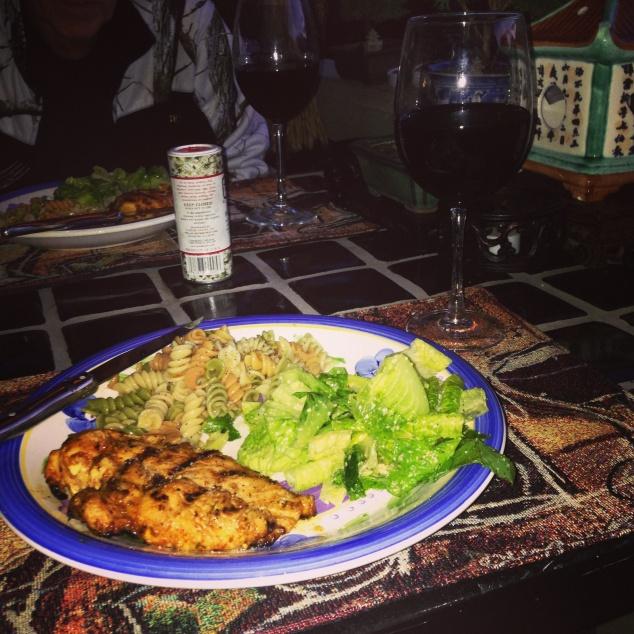 Dinning al fresco